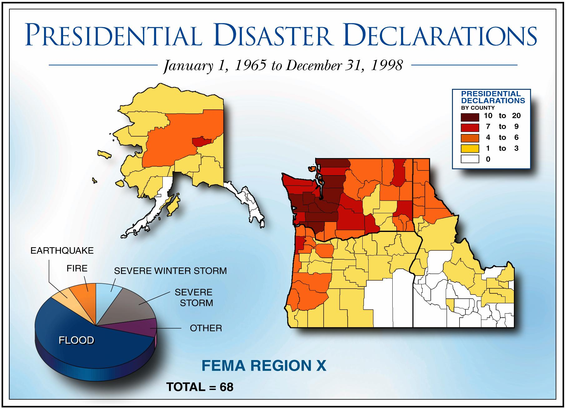 American Red Cross Maps And Graphics - Fema region map