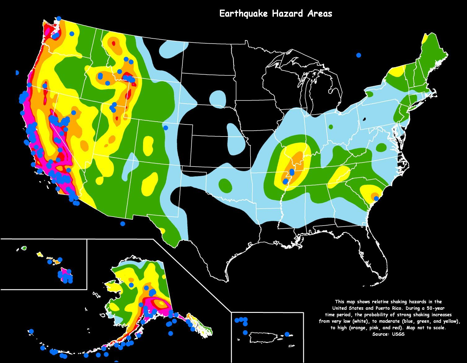 earthquake risk areas hires floods