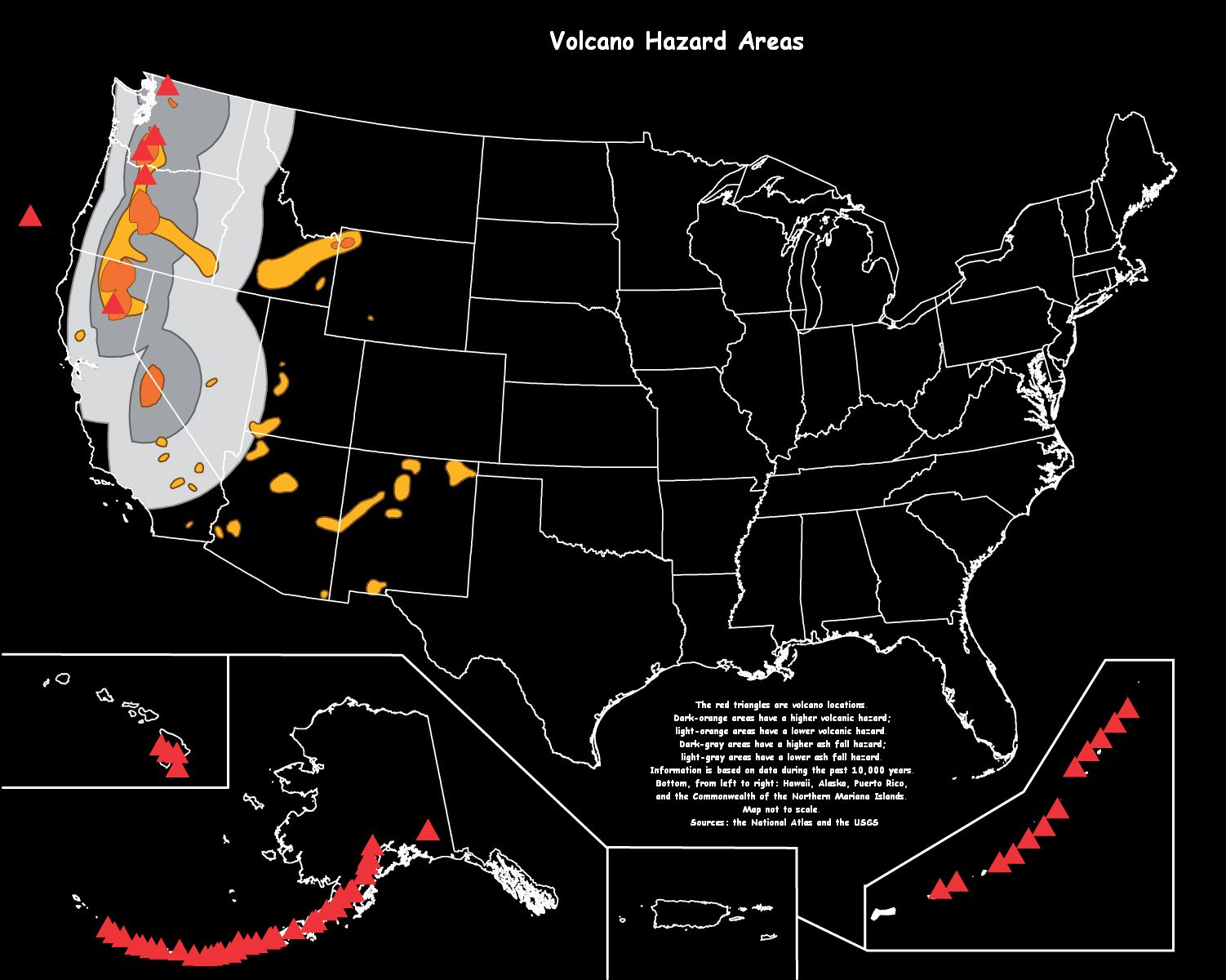 the hazards presented by volcanic and The volcanic processes that created the yellowstone geoecosystem are still active one way that geoscientists determine the likelihood of a certain type of eruption occurring is by documenting how often they have.